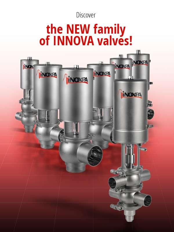INNOVA, the new valve family