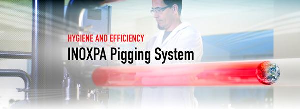 PIGGING SYSTEM, maksimal hygiejne og effektivitet