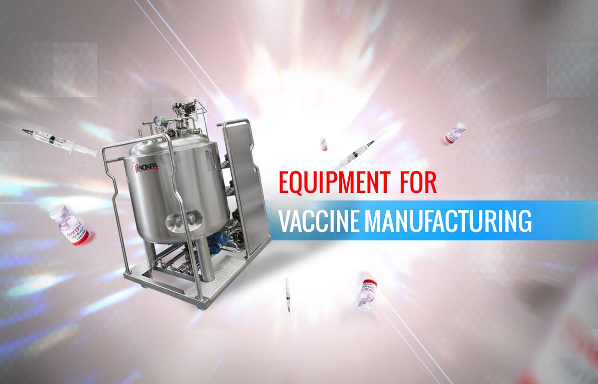 Udstyr til vaccinefremstilling