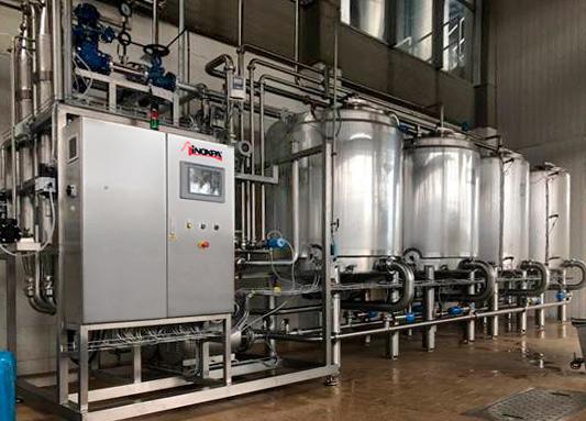 Optimal rengøring af en fremstillingsproces af mejeriprodukter