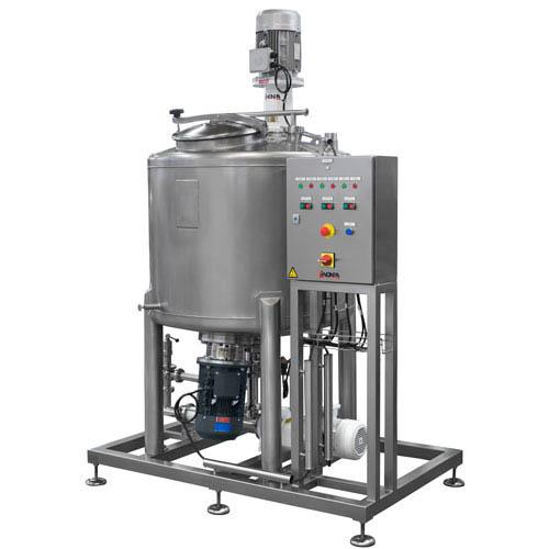 Udstyr til produktion af hydroalkoholisk gel